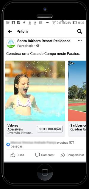 Anúncio Facebook Ads Carrossel