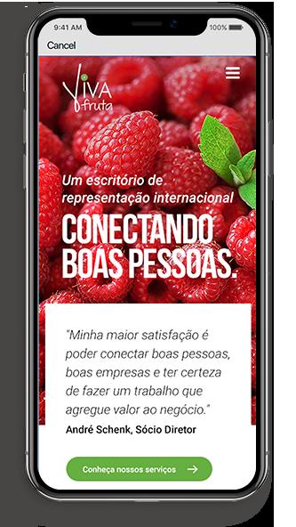 Site para Mobile