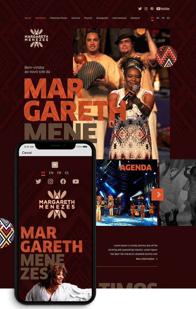 Site Margareth Menezes